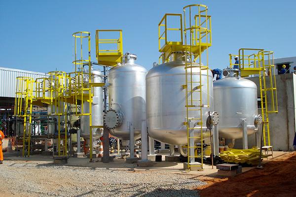 Sistema Conversão para Bicombustível da UTE
