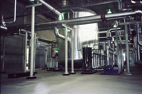 Centrais de Refrigeração, Ar Comprimido, PET
