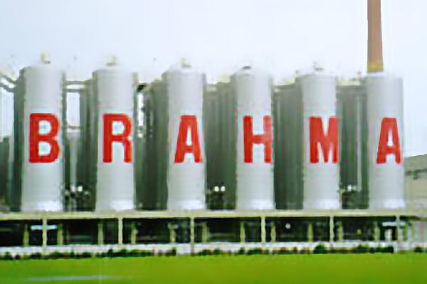 Tanques na Cervejaria Brahma