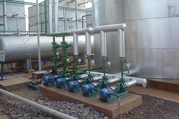 Planta de Gelo e Água na Eclusa da UHE Tucuruí