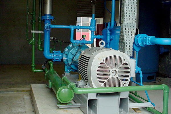 Central de Refrigeração na Fábrica da Kibon
