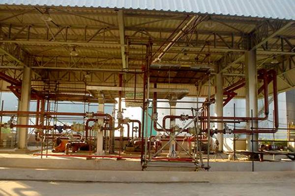 Base de Carga e Descarga de Óleo Combustível